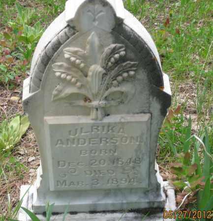 ANDERSON, ULRIKA - Lawrence County, South Dakota | ULRIKA ANDERSON - South Dakota Gravestone Photos