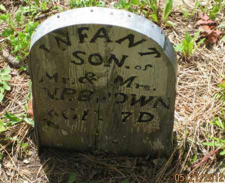 BROWN, BABY BOY - Lawrence County, South Dakota | BABY BOY BROWN - South Dakota Gravestone Photos