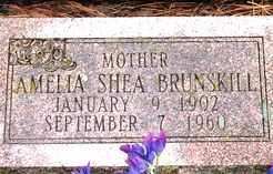 BRUNSKILL, AMELIA - Lawrence County, South Dakota | AMELIA BRUNSKILL - South Dakota Gravestone Photos