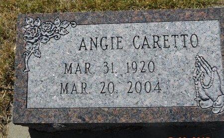 CARETTO, ANGIE - Lawrence County, South Dakota   ANGIE CARETTO - South Dakota Gravestone Photos