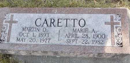 CARETTO, MARTIN SR. - Lawrence County, South Dakota | MARTIN SR. CARETTO - South Dakota Gravestone Photos