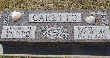 CARETTO, MARTIN JR. - Lawrence County, South Dakota   MARTIN JR. CARETTO - South Dakota Gravestone Photos