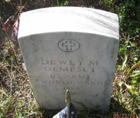 DEMPSEY, DEWEY  M. - Lawrence County, South Dakota | DEWEY  M. DEMPSEY - South Dakota Gravestone Photos