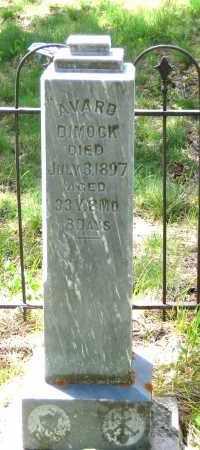 DIMOCK, AVARD - Lawrence County, South Dakota | AVARD DIMOCK - South Dakota Gravestone Photos
