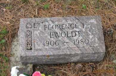 EWOLDT, FLORENCE  I. - Lawrence County, South Dakota | FLORENCE  I. EWOLDT - South Dakota Gravestone Photos