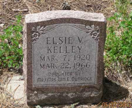 KELLEY, ELSIE  V. - Lawrence County, South Dakota   ELSIE  V. KELLEY - South Dakota Gravestone Photos