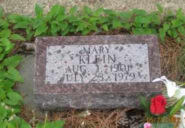 KLEIN, MARY - Lawrence County, South Dakota   MARY KLEIN - South Dakota Gravestone Photos