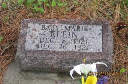 KLEIN, MARIE - Lawrence County, South Dakota | MARIE KLEIN - South Dakota Gravestone Photos