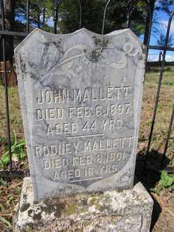 MALLETT, RODNEY - Lawrence County, South Dakota | RODNEY MALLETT - South Dakota Gravestone Photos