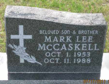 MCCASKELL, MARK  LEE - Lawrence County, South Dakota | MARK  LEE MCCASKELL - South Dakota Gravestone Photos