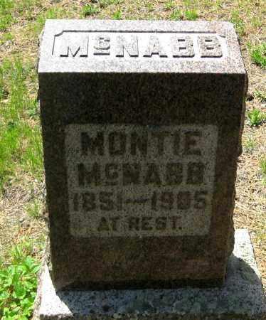 MCNABB, MONTIE - Lawrence County, South Dakota | MONTIE MCNABB - South Dakota Gravestone Photos