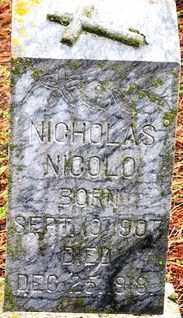 NICOLO, NICHOLAS - Lawrence County, South Dakota | NICHOLAS NICOLO - South Dakota Gravestone Photos