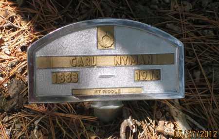 NYMAN, CARL - Lawrence County, South Dakota   CARL NYMAN - South Dakota Gravestone Photos