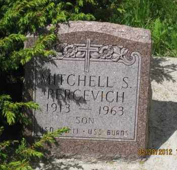 PERCEVICH, MITCHELL S. - Lawrence County, South Dakota   MITCHELL S. PERCEVICH - South Dakota Gravestone Photos
