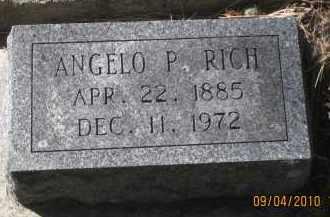 RICH, ANGELO  P. - Lawrence County, South Dakota   ANGELO  P. RICH - South Dakota Gravestone Photos