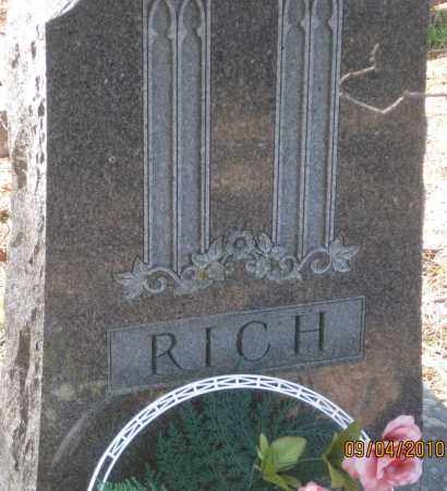 RICH, FAMILY STONE - Lawrence County, South Dakota | FAMILY STONE RICH - South Dakota Gravestone Photos