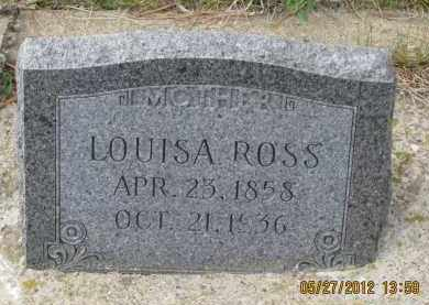 ROSS, LOUISA - Lawrence County, South Dakota   LOUISA ROSS - South Dakota Gravestone Photos