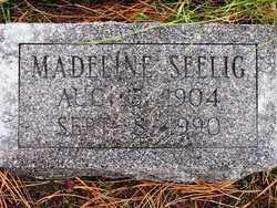 SEELIG, MADELINE - Lawrence County, South Dakota | MADELINE SEELIG - South Dakota Gravestone Photos