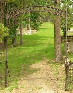 *ST AMBROSE CEMETERY, FRONT GATE - Lawrence County, South Dakota | FRONT GATE *ST AMBROSE CEMETERY - South Dakota Gravestone Photos