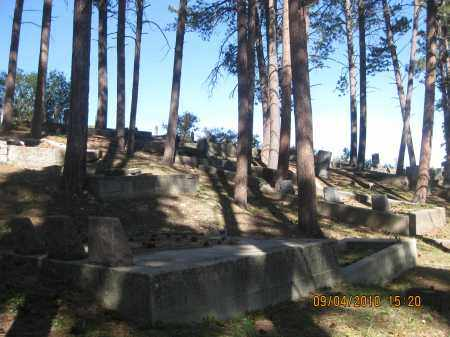 *ST AMBROSE CEMETERY, VIEW OF TERRACING - Lawrence County, South Dakota | VIEW OF TERRACING *ST AMBROSE CEMETERY - South Dakota Gravestone Photos
