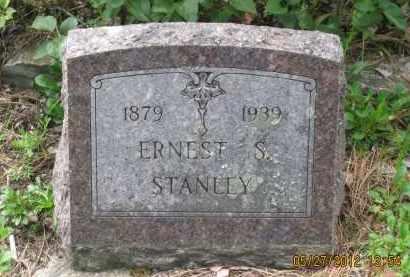 STANLEY, ERNEST  S. - Lawrence County, South Dakota | ERNEST  S. STANLEY - South Dakota Gravestone Photos
