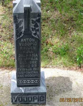 VODOPIC, ANTON - Lawrence County, South Dakota | ANTON VODOPIC - South Dakota Gravestone Photos