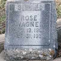 WAGNER, ROSE - Lawrence County, South Dakota | ROSE WAGNER - South Dakota Gravestone Photos