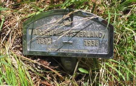 WESTERLAND, ARTHUR - Lawrence County, South Dakota | ARTHUR WESTERLAND - South Dakota Gravestone Photos