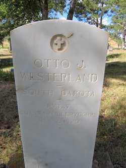 WESTERLAND, OTTO  J. - Lawrence County, South Dakota   OTTO  J. WESTERLAND - South Dakota Gravestone Photos