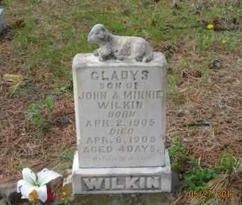 WILKIN, GLADYS - Lawrence County, South Dakota   GLADYS WILKIN - South Dakota Gravestone Photos
