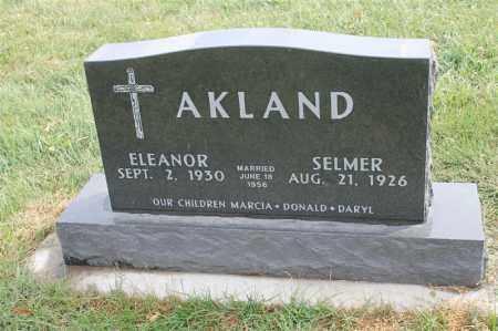 AKLAND, SELMER - Lincoln County, South Dakota | SELMER AKLAND - South Dakota Gravestone Photos