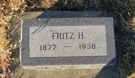 ANDERBERG, FRITZ H - Lincoln County, South Dakota | FRITZ H ANDERBERG - South Dakota Gravestone Photos