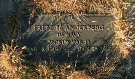 ANDERBERG, FRITZ H - Lincoln County, South Dakota | FRITZ H ANDERBERG - South Dakota Gravestone Photos