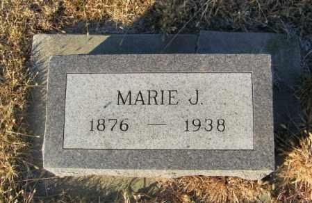ANDERBERG, MARIE J - Lincoln County, South Dakota | MARIE J ANDERBERG - South Dakota Gravestone Photos