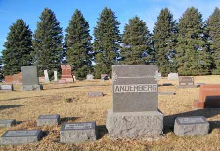 ANDERBERG PLOT, MARTIN - Lincoln County, South Dakota | MARTIN ANDERBERG PLOT - South Dakota Gravestone Photos