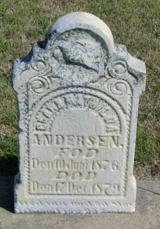 ANDERSEN, CLARA MATHILDA - Lincoln County, South Dakota | CLARA MATHILDA ANDERSEN - South Dakota Gravestone Photos