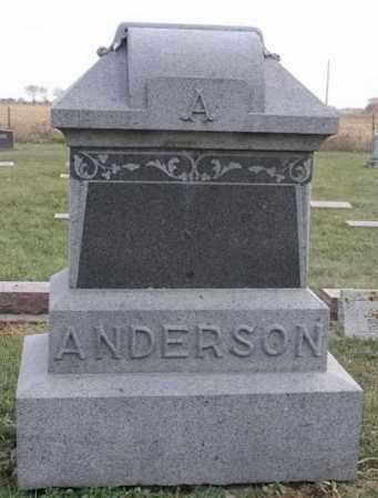 ANDERSON FAMILY PLOT, VICTOR - Lincoln County, South Dakota | VICTOR ANDERSON FAMILY PLOT - South Dakota Gravestone Photos