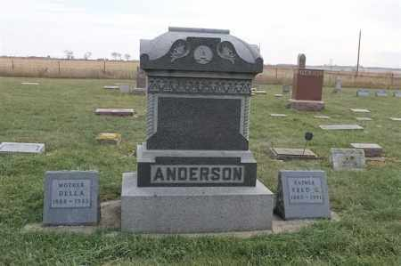 ANDERSON FAMLY PLOT, FRED G - Lincoln County, South Dakota | FRED G ANDERSON FAMLY PLOT - South Dakota Gravestone Photos
