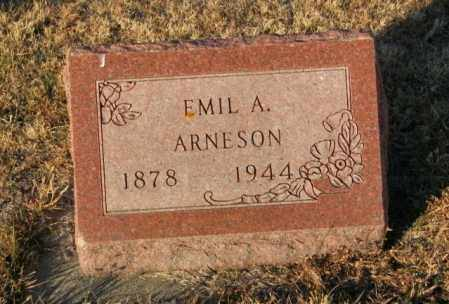 ARNESON, EMIL A - Lincoln County, South Dakota | EMIL A ARNESON - South Dakota Gravestone Photos
