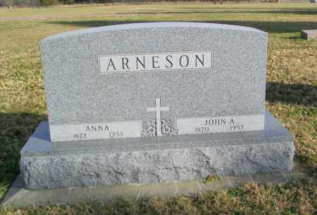 ARNESON, JOHN A - Lincoln County, South Dakota | JOHN A ARNESON - South Dakota Gravestone Photos