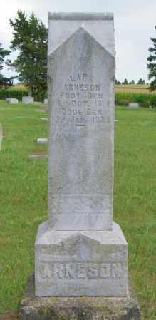 ARNESON, LARS - Lincoln County, South Dakota | LARS ARNESON - South Dakota Gravestone Photos
