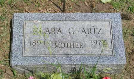 ARTZ, CLARA G - Lincoln County, South Dakota | CLARA G ARTZ - South Dakota Gravestone Photos
