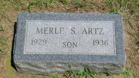 ARTZ, MERLE S - Lincoln County, South Dakota | MERLE S ARTZ - South Dakota Gravestone Photos