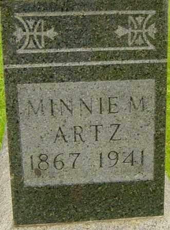 ARTZ, MINNIE - Lincoln County, South Dakota | MINNIE ARTZ - South Dakota Gravestone Photos