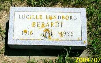 BERARDI, LUCILLE AMELIA - Lincoln County, South Dakota | LUCILLE AMELIA BERARDI - South Dakota Gravestone Photos