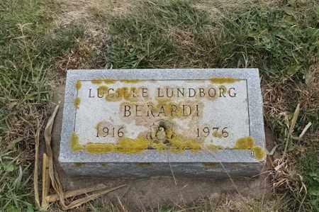 BERARDI, LUCILLE - Lincoln County, South Dakota | LUCILLE BERARDI - South Dakota Gravestone Photos