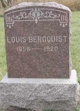 BERGQUIST, LOUIS - Lincoln County, South Dakota   LOUIS BERGQUIST - South Dakota Gravestone Photos