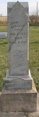 BERGQUIST, JOHN - Lincoln County, South Dakota | JOHN BERGQUIST - South Dakota Gravestone Photos