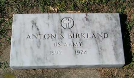 BIRKLAND, ANTON N - Lincoln County, South Dakota | ANTON N BIRKLAND - South Dakota Gravestone Photos