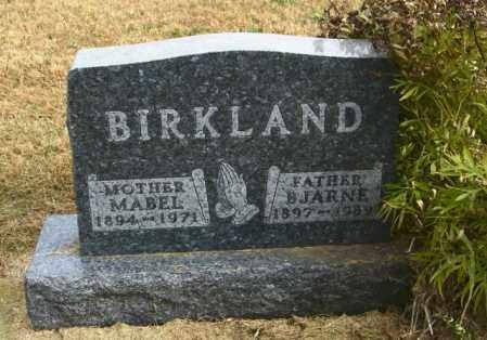 BIRKLAND, BJARNE - Lincoln County, South Dakota   BJARNE BIRKLAND - South Dakota Gravestone Photos